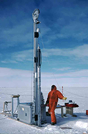Ice core drilling
